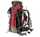 Рюкзак Pentagram, 60 л, Туризм, Спорт, Активний відпочинок, Каркасна спинка!, фото 2