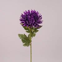 Хризантема фиолетовая 72 см.  Цветы искусственные