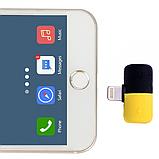 Переходник сплиттер разветвитель 2 в 1 VOLRO для iPhone X / 8 / 7 для зарядки и наушников Black (vol-409), фото 3