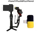 Переходник сплиттер разветвитель 2 в 1 VOLRO для iPhone X / 8 / 7 для зарядки и наушников Black (vol-409), фото 5