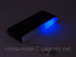 Power Bank Proda P4 PPL 12000mAh универсальная батарея с фонариком и мигалкой, фото 3