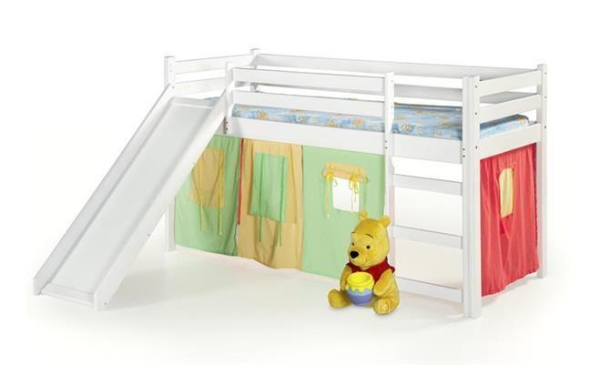 Детская  кровать Neo plus(3 цвета: ольха, сосна, белый) (Halmar)