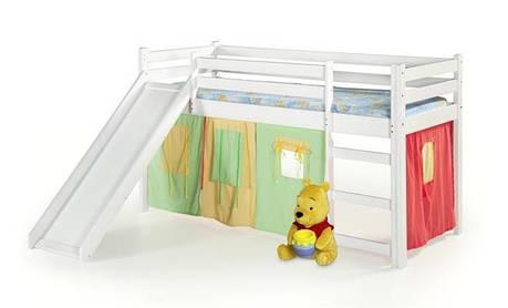Детская  кровать Neo plus(3 цвета: ольха, сосна, белый) (Halmar), фото 2