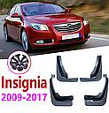 Брызговики MGC Opel Insignia Инсигния Европа Buick Regal Америка 2009-2017 гв комплект 4 шт 22897489, 22878774, фото 4