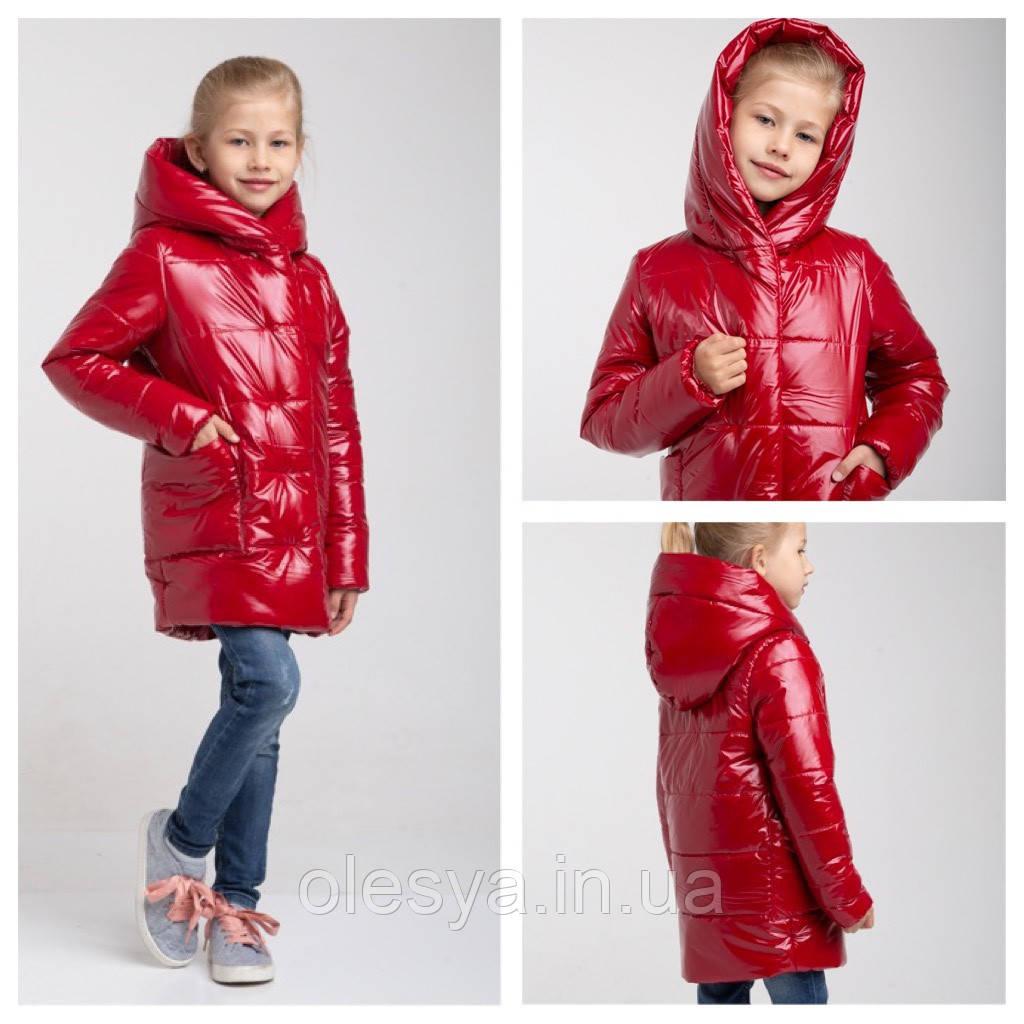 Демисезонная утепленная куртка для девочки Felice  Размеры 104 - 122