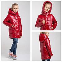 Демисезонная утепленная куртка для девочки Felice  Размеры 104 - 164 Новинки Осень 2019