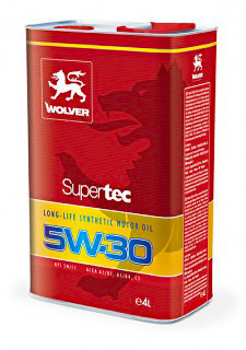 Масло моторное Wolver  Supertec SAE 5W-30 API SM/CF (Канистра 60л)