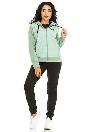Женская спортивный костюм 731 зеленый, фото 2