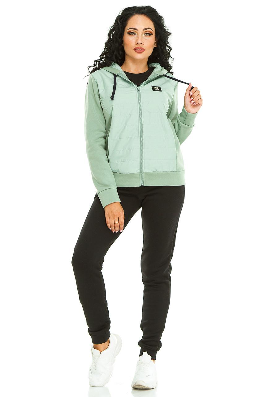 Женская спортивный костюм 731 зеленый