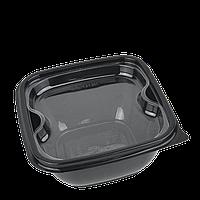 Менажница (вкладка) прозрачная для квадратного контейнера (50 шт в уп.), фото 1