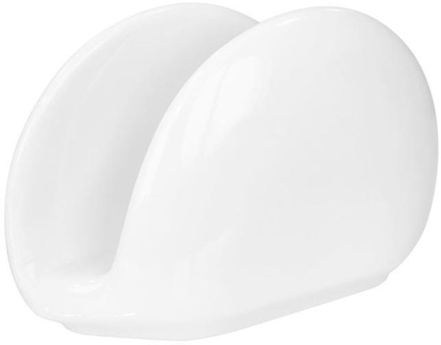 Салфетница Helfer белая фарфоровая арт.21-04-147