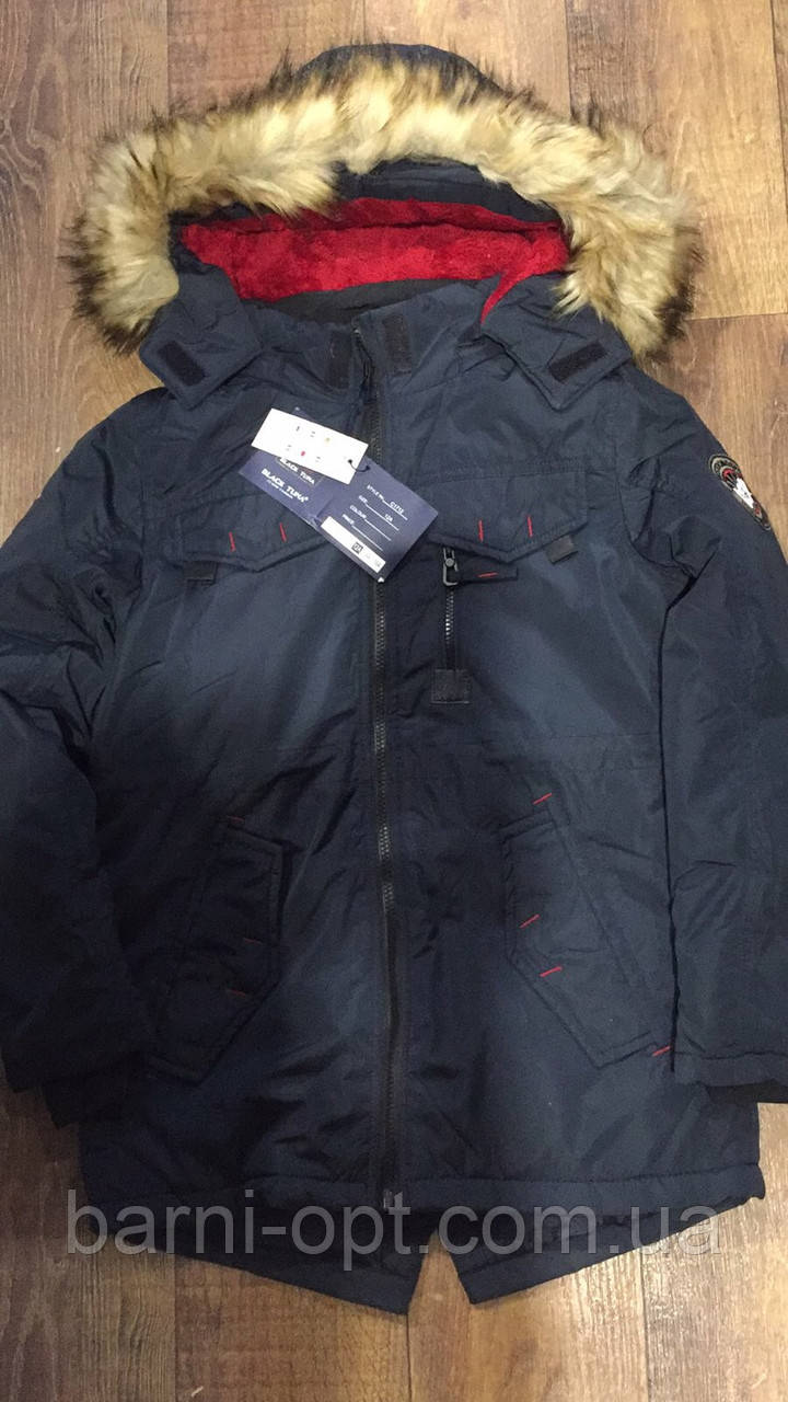 Куртки зимние на мальчика оптом, Setty Koop, 6-16 рр