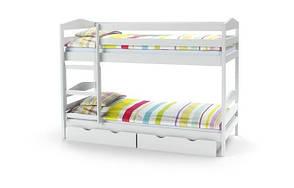 Кровать детская двухъярусная Sam(3 цвета:ольха, сосна,белый) (Halmar), фото 2