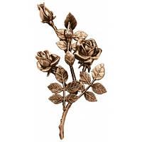 Бронзові квіти на  пам'ятник L3745/30*16, фото 1