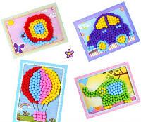 Детские поделки с мягкими шариками!