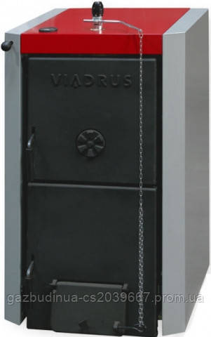 Твердотопливный котел Viadrus U22 D 4 секции