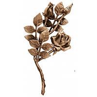 Бронзові квіти на  пам'ятник L3748/30*15