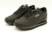 Кроссовки Fila 31 р 21 см Черный (Fila black - 31)