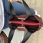 Женская сумка бордо    (3066), фото 7