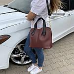 Женская сумка бордо    (3066), фото 3