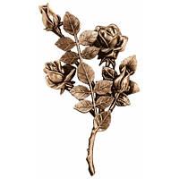 Бронзові квіти на  пам'ятник L3749/30*15