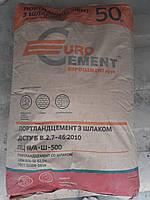 Купить  цемент  ЕВРО ПЦ II/ А Ш-500 (50кг), фото 1