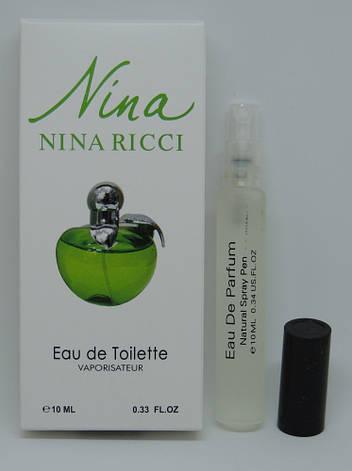 Мини-парфюм Nina Ricci Nina Plain Green Apple (10 мл), фото 2