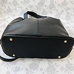 Женская сумка черная замш    (3066/1), фото 7