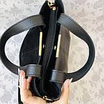 Женская сумка черная замш    (3066/1), фото 8