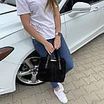Женская сумка черная замш    (3066/1), фото 3