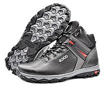 Ботинки кроссовки зимние мужские кожа PU 43 размер, фото 2