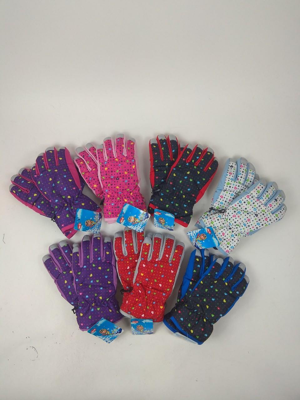 Перчатки-дутики водонепроницамые детские 3-6 лет
