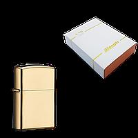 Электрическая зажигалка USB Lighter Honglu Золото (ART-0187)
