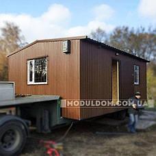 Мобильный дачный домик (8 х 4 м.), с просторной кухней и спальней, фото 3