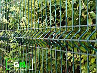 Секционный забор 1х2,5 м, 3/4 мм, секционное сварное ограждение 3D