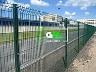 Секционный забор 1,2х2,5 м, 3/4 мм секционное сварное ограждение 3D