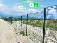 Секционный забор 1.75х2,5 м, 3/4 мм секционное сварное ограждение 3D
