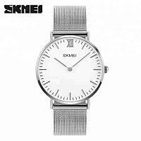 Skmei 1181 large серебристые мужские часы, фото 1