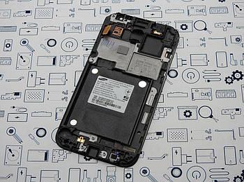 Дисплей Samsung G361H Galaxy Core Prime модуль черный Сервисный оригинал с разборки