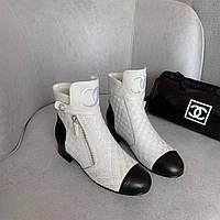 Ботинки женские кожаные, фото 1