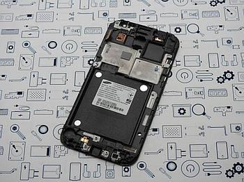 С дефектом. Дисплей Samsung G361H Galaxy Core Prime модуль серый Сервисный оригинал с разборки