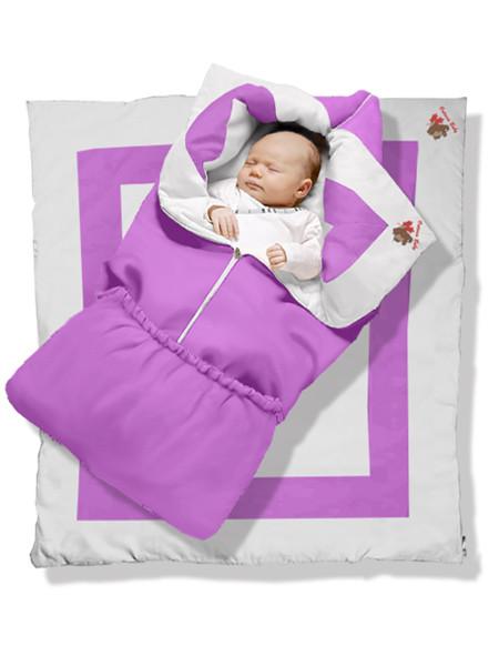 """Одеяло трансформер """"Violet"""" Premium. Онтарио Беби."""