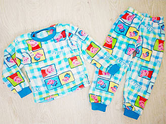 Детская махровая пижама, Украина, Детки- Текс, арт. 2671, 86-92