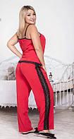 Пижама женская брюки и майка в расцветках 40827, фото 1