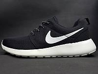 "Кроссовки Nike ""Roshe RUN"", цвет черно-белый, фото 1"