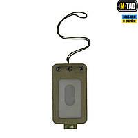 Бэйдж  M-Taс прозрачной панелью Ranger Green, фото 1
