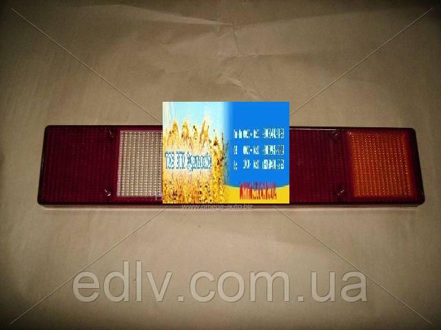 Стекло фонаря заднего ГАЗ 3302 с белым узким стеклом (пр-во Россия) 3302-3716000