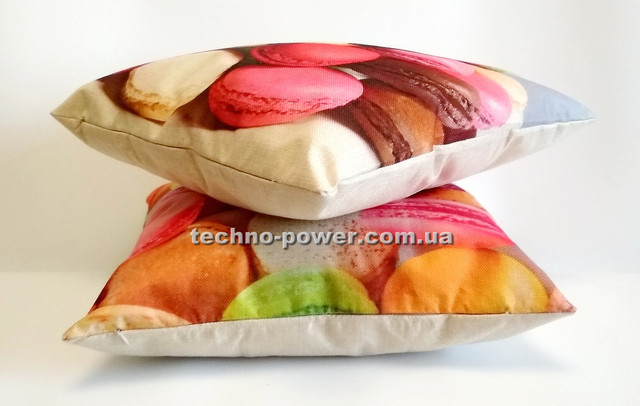 Подушка декоративная Макарунс