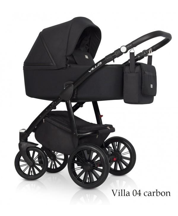 Коляска Riko Villa carbon 04 2в1