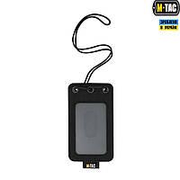 Бэйдж  M-Taс прозрачной панелью Black, фото 1